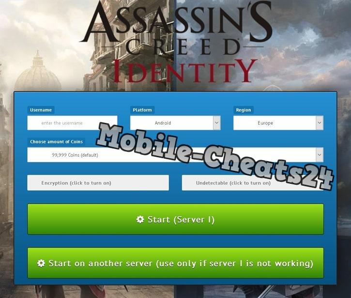 Assassins Creed Identity Online Generator