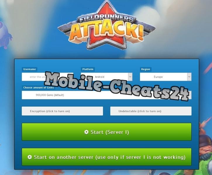 Fieldrunners Attack Generator Online