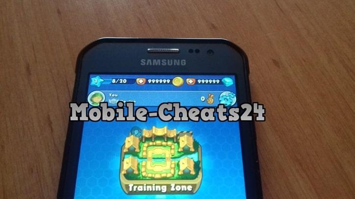 Jungle Clash Cheat