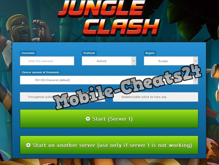 Jungle Clash Generator Online